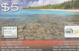 Marshall Islands - Reef And Beach - Marshall