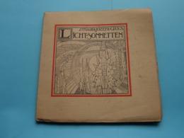 """Zr. MARIA-JOZEFA - C.R.S.S. """" LICHT-SONNETTEN """" Anno 1923 / Drukkerij Erasmus Gent ( Zie / Voir Photo ) - Boeken, Tijdschriften, Stripverhalen"""