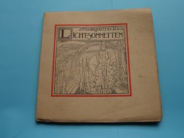 "Zr. MARIA-JOZEFA - C.R.S.S. "" LICHT-SONNETTEN "" Anno 1923 / Drukkerij Erasmus Gent ( Zie / Voir Photo ) - Libros, Revistas, Cómics"