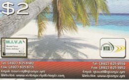 Marshall Islands - Beach And Palmtree - Marshalleilanden