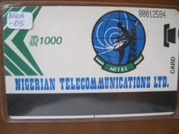 Télécarte Du Nigeria - Nigeria