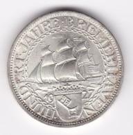 Nb_ Deutsches Reich - 3 Reichsmark - 1927  -  Bremerhaven (21) - [ 3] 1918-1933 : Repubblica Di Weimar