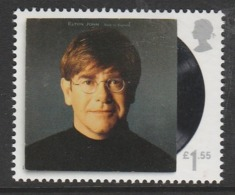 GB 2019 Music Giants - Elton John £1.55 Multicoloured SW 4105 ** MNH - 1952-.... (Elizabeth II)