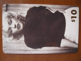 Télécarte De Maryline Monroé Neuve - Schede Telefoniche