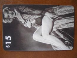 Télécarte De Maryline Monroé Neuve - Telefoonkaarten