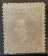 SARAWAK 1875 - MLH - Sc# 3 - 2c - Sarawak (...-1963)