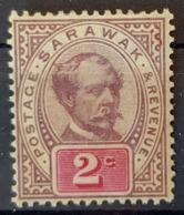 SARAWAK 1888 - MLH - Sc# 9 - 2c - Sarawak (...-1963)