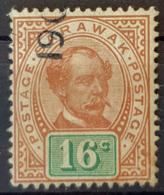 SARAWAK 1897 - Canceled - Sc# 17 - 16c - Sarawak (...-1963)