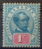 SARAWAK 1901 - MLH - Sc# 36 - 1c - Sarawak (...-1963)