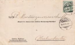 1905  Von Schweizerische Mobiliar Vers. Balsthal Nach Mostereigenossenschaft Oberbuchsiten. Zu: 65B / Mi. 53y - 1882-1906 Armoiries, Helvetia Debout & UPU