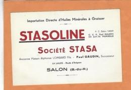 FRANCE BOUCHE DU RHONE 13 SALON DE PROVENCE STASOLINE - 1900 – 1949