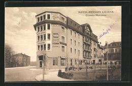 AK Clarens-Montreux, Ansicht Der Hotel-Pension Liliana - VD Vaud