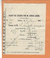 FRANCE BOUCHE DU RHONE 13 SALON DE PROVENCE ACHAT COTON COREN JEUNE 1862 - 1800 – 1899