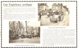 """PUB """" UNE EXPERIENCE PRATIQUE """" VEHICULES  à VAPEUR  """" GARDNER SERPOLLET """" 1904 - Other"""