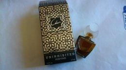 """Miniature De Parfum Cher    """" Uninhibited   """" Eau De Parfum - Modern Miniatures (from 1961)"""