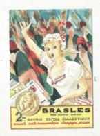Cp, Bourses & Salons De Collections, 2 E Bourse Toutes Collections , BRASLES Près Chateau Thierry , 1989 ,ill. V-H Blému - Bourses & Salons De Collections
