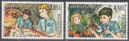 Moldova 2007 Michel 582 - 583 Neuf ** Cote (2015) 9.00 Euro Europa CEPT Le Scoutisme - Moldavie