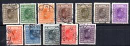 Serie   Nº  170/181 Falta 180   Yugoslavia - 1919-1929 Reino De Los Serbios, Croatas Y Eslovenos