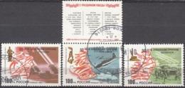 Rossija 1994 Michel 380 - 382 O Cote (2008) 1.00 Euro 50 Ans Libération De La Russie Cachet Rond - 1992-.... Fédération