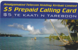 Kiribati - $ 5 Prepaid Calling Card - Kiribati