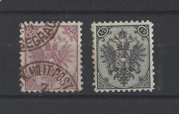 BOSNIE-HERZEGOVINE.  YT   N° 8A-9A  Neuf */ Obl  1894 - Bosnie-Herzegovine