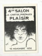 Cp, Bourses & Salons De Collections, 4 E Salon De Cartes Postale ,PLAISIR ,78 , Ill. Géo Thiercy ,  1992 ,  N° 306 - Bourses & Salons De Collections