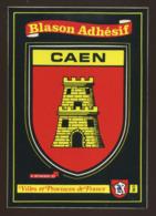 Caen (14) : Blason Adhésif - Caen
