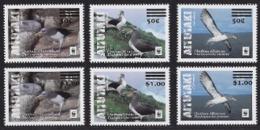 Aitutaki 2019, WWF, Albatros, Overp. 6val - Marine Web-footed Birds