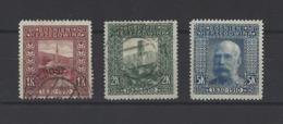 BOSNIE-HERZEGOVINE.  YT   N° 42-43-44  Neuf */obl  1906 - Bosnie-Herzegovine