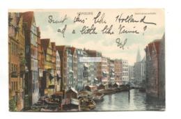 Hamburg - Deichstrassenfleth - Postcard Sent 1905 From Germany To USA - Altona