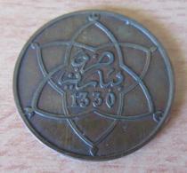 Maroc - Monnaie 10 Mazunas 1330 (1912) - TTB / SUP - Maroc