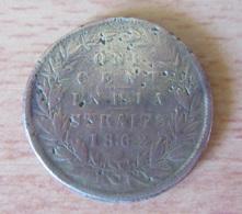 India Straits Settlements / Etablissements De Detroit - Monnaie One Cent Victoria 1862 - Colonies