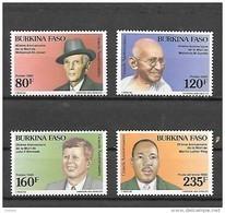 TIMBRE NEUF DU BURKINA DE 1988 N° MICHEL 1190/93 - Burkina Faso (1984-...)