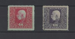 BOSNIE-HERZEGOVINE.  YT   N° 113-114  Neuf */obl  1916 - Bosnie-Herzegovine