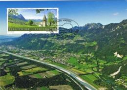 33888. Tarjeta Maxima VADUZ (Liechtenstein) 2009. Kapelle St, Mamerta (Triesen) - Cartas Máxima