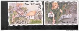 CEPT Sagen Und Legenden / Legends - Mythes Isle Of Man 717 - 718 ** Postfrisch, MNH, Neuf - Europa-CEPT