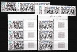 1981 Francia France EUROPA CEPT EUROPE 7 Serie Di 2v. MNH** - 1981