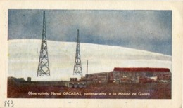 OBSERVATORIO NAVAL ORCADAS, ANTÁRTIDA ARGENTINA - LU8ZM DATE 23-1-1954. SERVICIO QSL RADIO CLUB ARGENTINO -LILHU - Radio