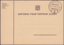 Czechoslovakia - 1938 Military - Field Post Postcard. Polni Posta 6, C. S. P., 12.XI.1938.(II). - Briefe U. Dokumente
