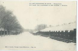 Elsenborn - Le Camp D'Elsenborn En Hiver - Baraquements - Barakken - Edit. J. Soudan Photogr. Camp D'Elsenborn - 1921 - Elsenborn (camp)