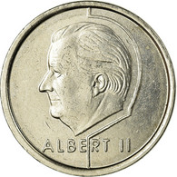 Monnaie, Belgique, Albert II, Franc, 1997, Bruxelles, TTB, Nickel Plated Iron - 02. 1 Franc