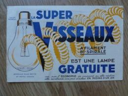 BUVARD LA SUPER VISSEAUX - Elektrizität & Gas