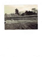 Photographie Non Située Février 1960 - Immeuble - Travaux Construction échafaudage Briques Maçons - Métiers