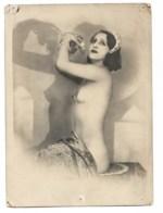 MATA HARI ?? Réponse: NON Un Delcampeur M'indique Que Mata Hari N'a Jamais Posée Nue - Non Classés