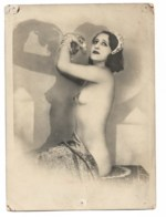 MATA HARI ?? Réponse: NON Un Delcampeur M'indique Que Mata Hari N'a Jamais Posé Nue - Photos