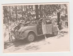 BB171 - PHOTO - Automobile - CITROEN - 2 CV - Camping - Cars