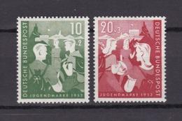 BRD - 1952 - Michel Nr. 153/154 - Postfrisch - 40 Euro - [7] Federal Republic