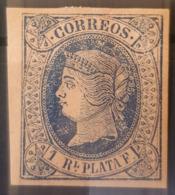 CUBA 1864 - MLH - Sc# 20 - 1c - Cuba (1874-1898)