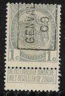 Genval 1909 Nr. 1318A - Precancels