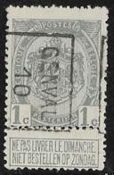 Genval 1910 Nr. 1450B - Precancels